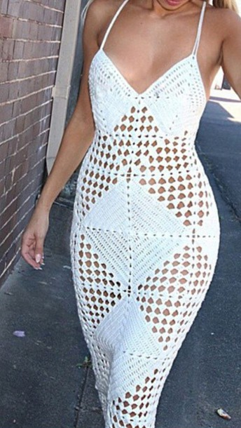 dress crochet style crochet maxi dress white dress maxi dress