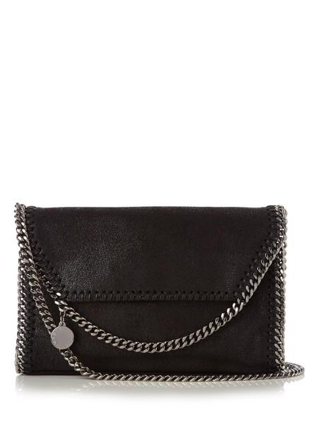 Stella McCartney cross mini bag suede black