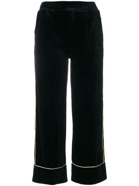 Amuse cropped women black pants