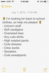 bag,belt,blouse,cardigan,dress,jacket,jeans,leggings,pajamas,pants,shirt,shoes,socks,sweater,t-shirt,tank top,top