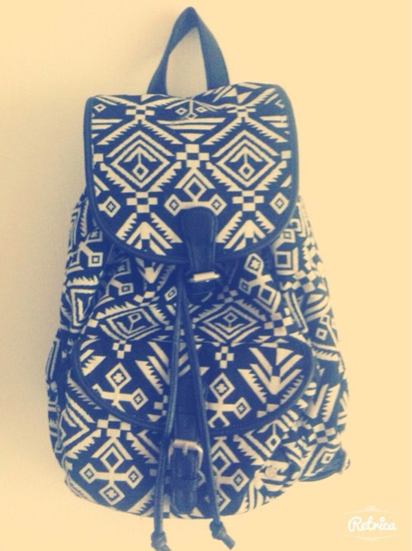 bag vintage backpack