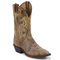 "Justin men's bent rail collection 11"" western boots"
