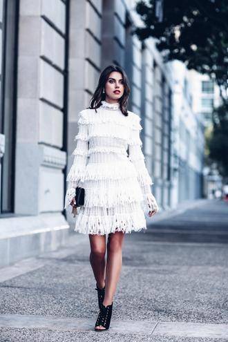 viva luxury blogger jewels dress shoes white dress