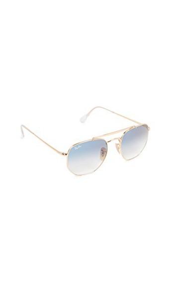 Ray-Ban sunglasses aviator sunglasses gold blue