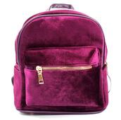 bag,fashion,red,burgundy,velvet,backpack,cool,trendy,back to school,it girl shop,fall outfits,velvet bag