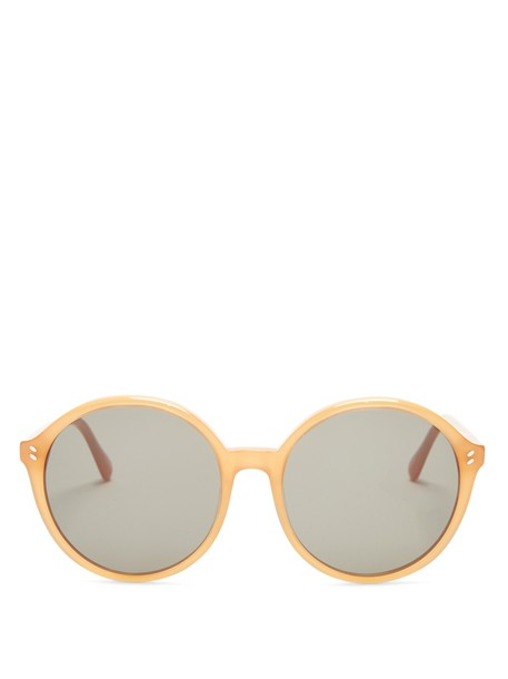 Stella McCartney sunglasses camel