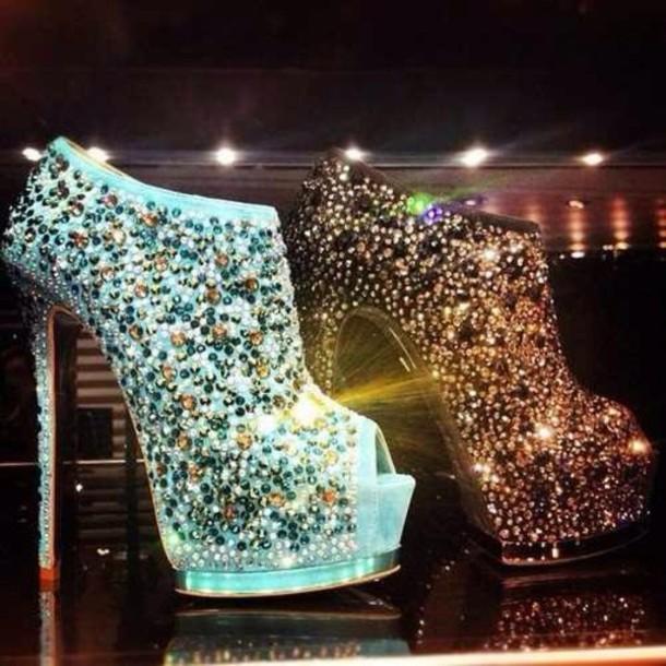 Фото - туфли со стразами