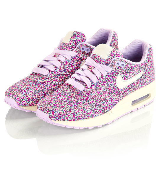 Nike Liberty x Air Max 1 Pepper Print Purple US Wmns 9 5 UK 7 EU 41 Patta Atmos | eBay