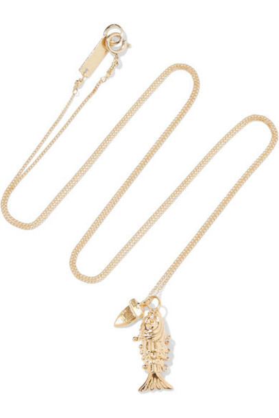 Isabel Marant necklace gold jewels