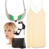 jewels,silver,emerald green,necklace,summer outfits