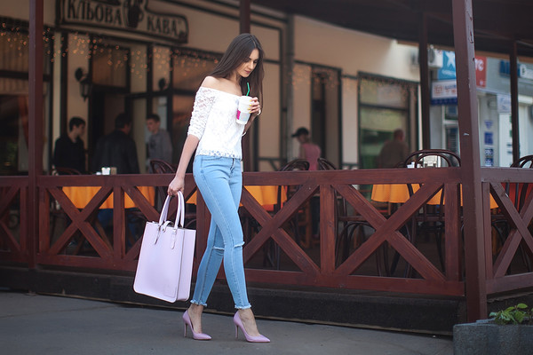 Classic Baby Blue Tote   The Leather Satchel Co.