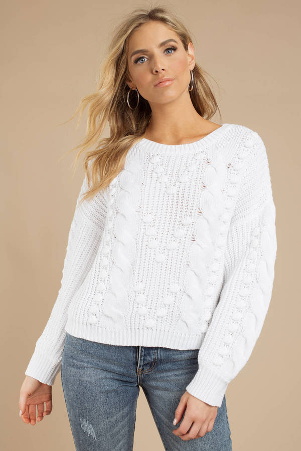 Forever Ours White Sweater