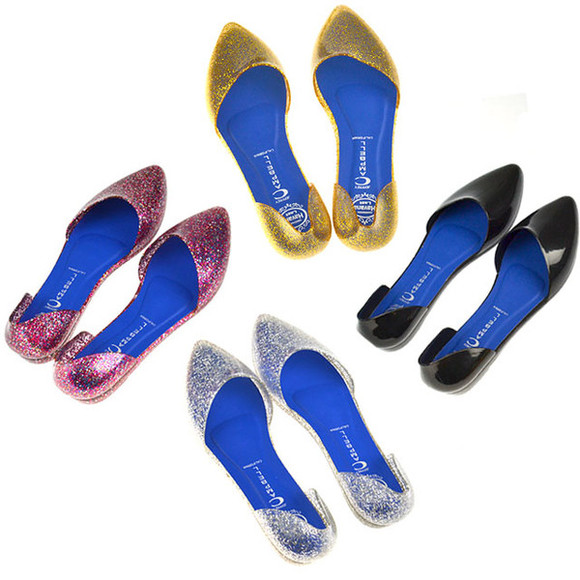 shoes jeffrey campbell envishoes glitter glitter shoes jelly shoes