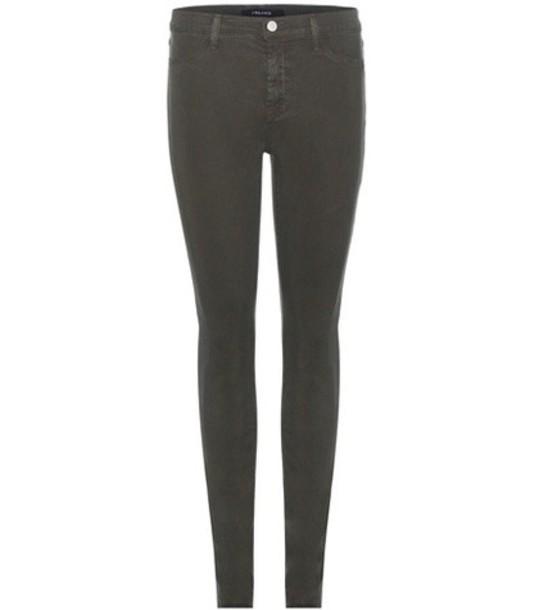 J BRAND jeans skinny jeans super skinny jeans grey