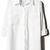 ROMWE   Panel Hollowed Embroidered White Shirt, The Latest Street Fashion