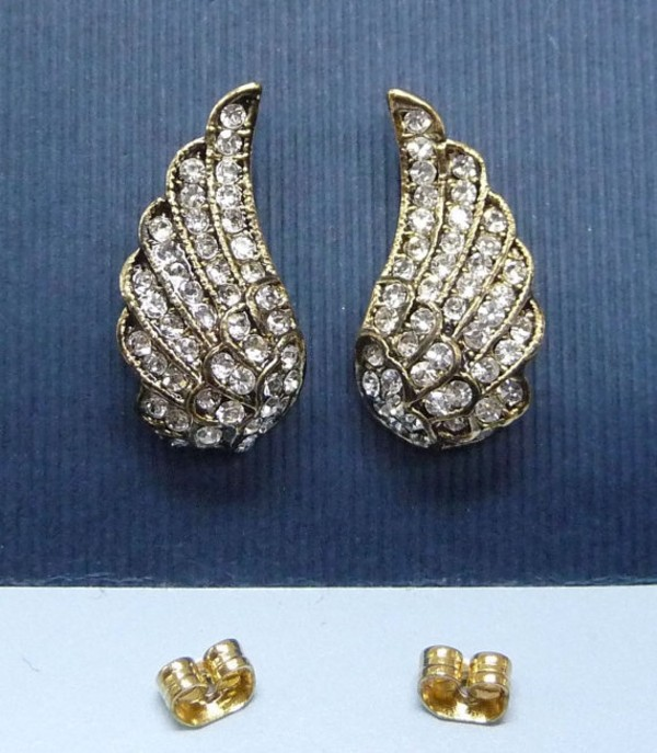 jewels angel wings earrings