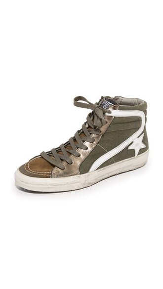 high sneakers high top sneakers green olive green shoes