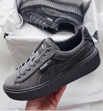 shoes rhianna sweater grey addias shoes