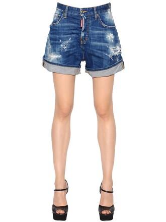 shorts denim shorts denim kawaii blue