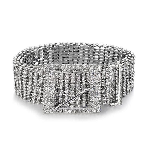 Crystal Chain Belt