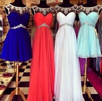 dress light blue white dress royal blue dress