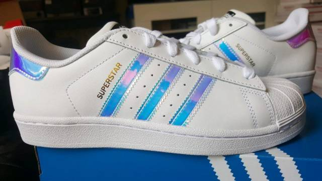 Iridescent 8bce2 Superstar Zealand Adidas Kids F2c44 New xBoerCd