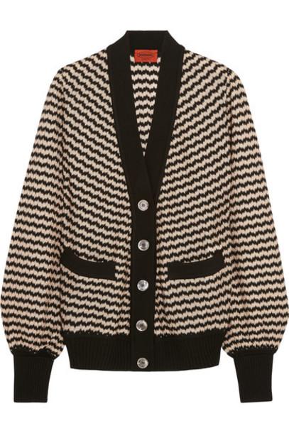 Missoni - Wool-blend Crochet-knit Cardigan - Black