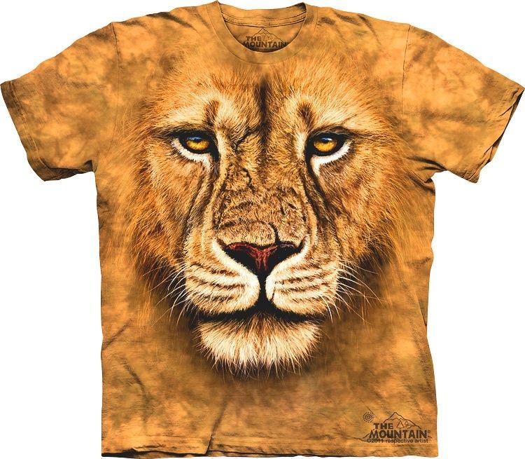 Lion Warrior BIG FACE 3D T-Shirt Adult Mens Womens Cool Jungle T ... 9cee678b1
