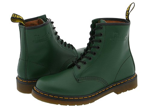 Dr. Martens 1460 Green Smooth - Zappos.com Free Shipping BOTH Ways