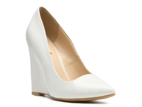 Qupid Meester-01 Wedge Pump | DSW