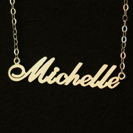 Gold Name necklace, Bridal necklace wedding gift, 18K Gold 925 Sterling silver necklace, Personalized Necklace, best gift Jewelry for mom | Handmade Bracelets Wholesale, Friendship Bracelets, Custom Leather Rope Bracelets,Craft Supplies Wholesale