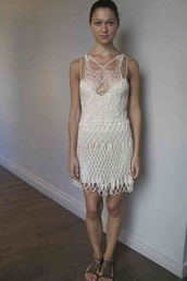 dress,knitted dress,knit mini dress,lace dress,white dress,lwd,white lace dress,little white dress