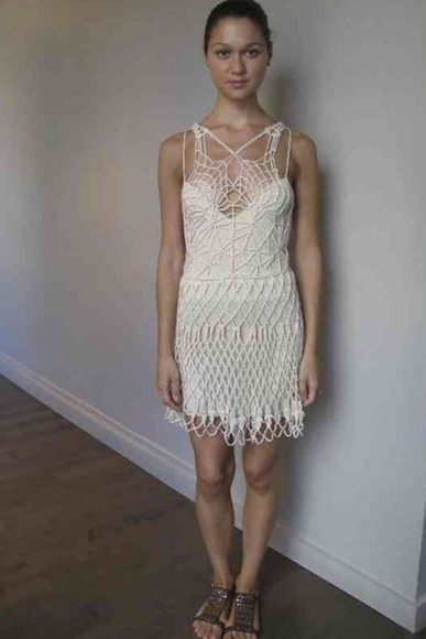 dress knit dress knit mini dress lace dress white dress lwd white lace dress little white dress