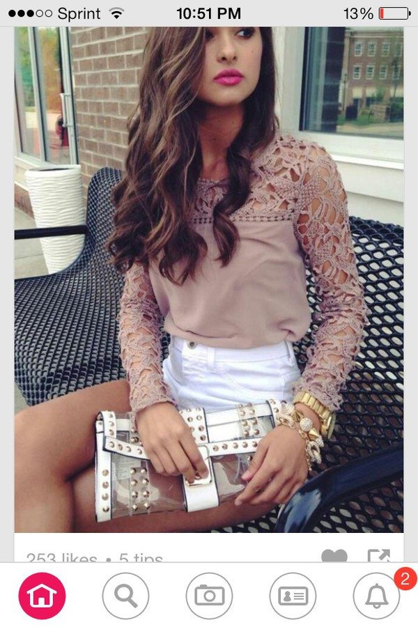 blouse shorts