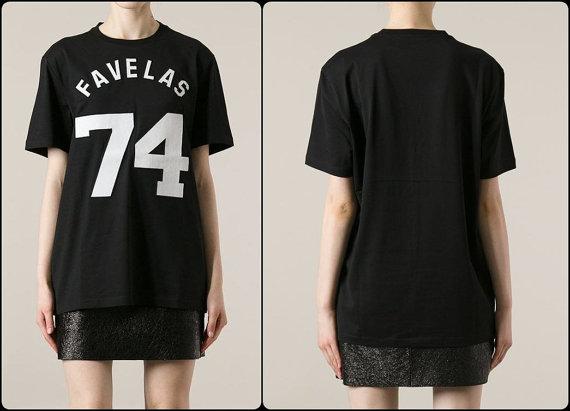 Favelas 74 varsity cotton unisex t shirt from tumblr fashion on storenvy