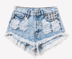 450 Acid Studded Dreamer Shorts