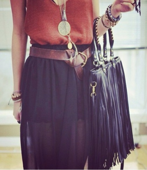 bag black tank top black bag black bags bags beautiful bags belt belts lether belt brown brown belt tank tank tops