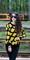 Mickey clamshell retro round sunglasses