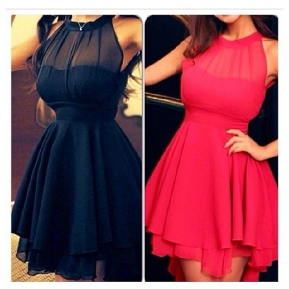 dress pink dress little black dress