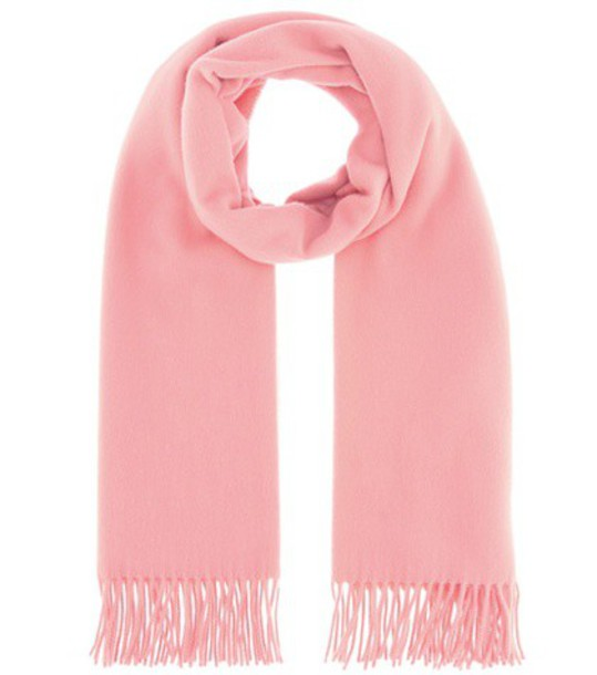Acne Studios scarf wool pink
