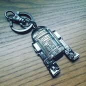 home accessory,star wars,keychain,metal,funny,robot,r2d2,george lucas