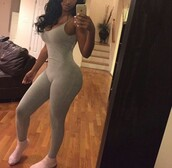 jumpsuit,grey,nude,nude jumspuit,party outfits,sexy,sexy outfit,cute,date outfit,clubwear