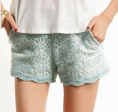 Summer Baroque Laces Shorts (2 colors available) – Glamzelle
