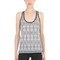 Printed performance jersey tank top