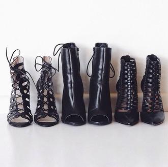 shoes black boots boots high heels black heels fashion