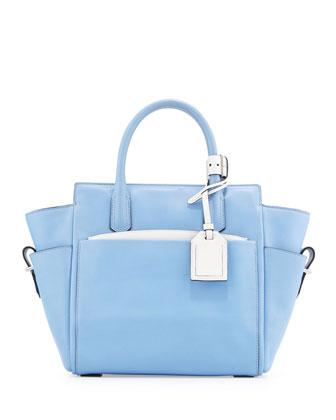 Reed Krakoff Atlantique Mini Tote Bag, Blue