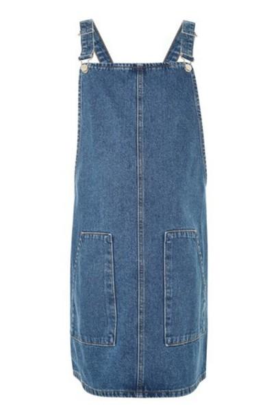 Topshop dress pinafore dress