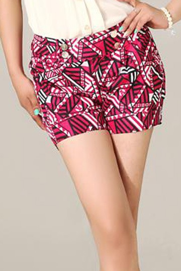 Retro Pattern Summer Short [FJCE0106]- US$ 35.99 - PersunMall.com