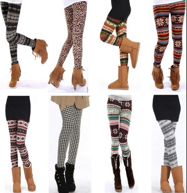 pants printed leggings jeans