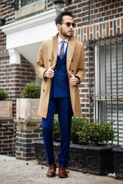 the metro man blogger mens suit camel coat mens blazer classy